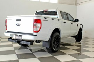 2013 Ford Ranger PX XL 2.2 Hi-Rider (4x2) White 6 Speed Automatic Crew Cab Pickup