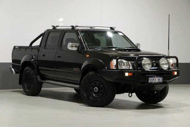 Used Nissan Navara D22 Series 5 ST-R (4x4), 2014 Nissan Navara D22 Series 5 ST-R (4x4) Black 5 Speed Manual Dual Cab Pick-up