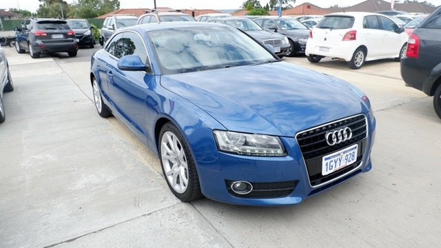 Used Audi A5 8T MY09 Multitronic, 2009 Audi A5 8T MY09 Multitronic Blue 8 Speed Constant Variable Coupe