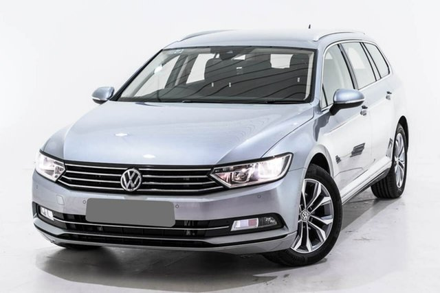 Used Volkswagen Passat 3C (B8) MY19 132TSI DSG, 2019 Volkswagen Passat 3C (B8) MY19 132TSI DSG Silver 7 Speed Sports Automatic Dual Clutch Wagon