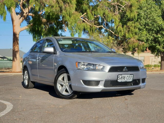 Used Mitsubishi Lancer CJ MY14.5 ES Sport, 2014 Mitsubishi Lancer CJ MY14.5 ES Sport Silver 6 Speed Constant Variable Sedan