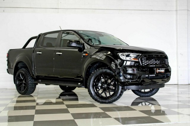 Used Ford Ranger PX MkIII MY19.75 XLS 3.2 (4x4), 2019 Ford Ranger PX MkIII MY19.75 XLS 3.2 (4x4) Black 6 Speed Automatic Double Cab Pickup