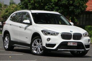 2016 BMW X1 F48 sDrive18d Steptronic White 8 Speed Sports Automatic Wagon.