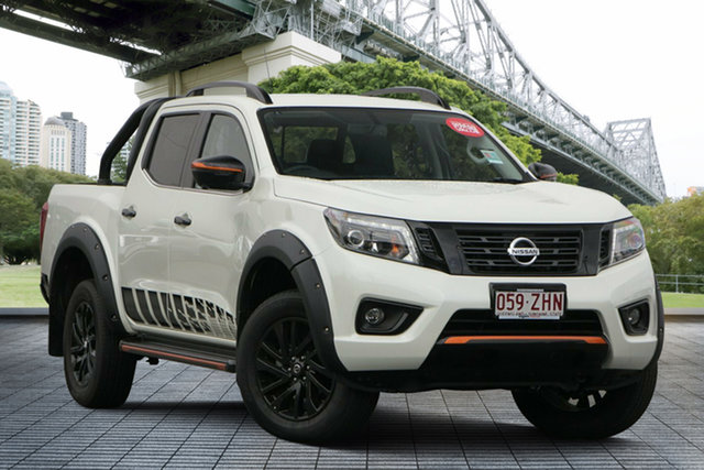 Demo Nissan Navara D23 S4 MY19 N-TREK, 2019 Nissan Navara D23 S4 MY19 N-TREK White Diamond 7 Speed Sports Automatic Utility