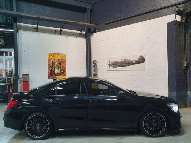 Used Mercedes-Benz CLA-Class C117 CLA45 AMG SPEEDSHIFT DCT 4MATIC, 2013 Mercedes-Benz CLA-Class C117 CLA45 AMG SPEEDSHIFT DCT 4MATIC Black 7 Speed