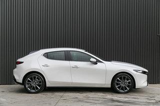 2020 Mazda 3 BP2H7A G20 SKYACTIV-Drive Evolve Snowflake White Pearl 6 Speed Sports Automatic.
