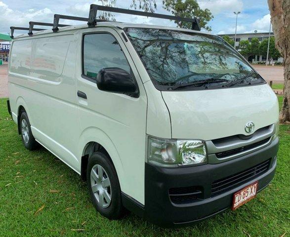 Used Toyota HiAce KDH201R MY08 LWB, 2008 Toyota HiAce KDH201R MY08 LWB White 4 Speed Automatic Van