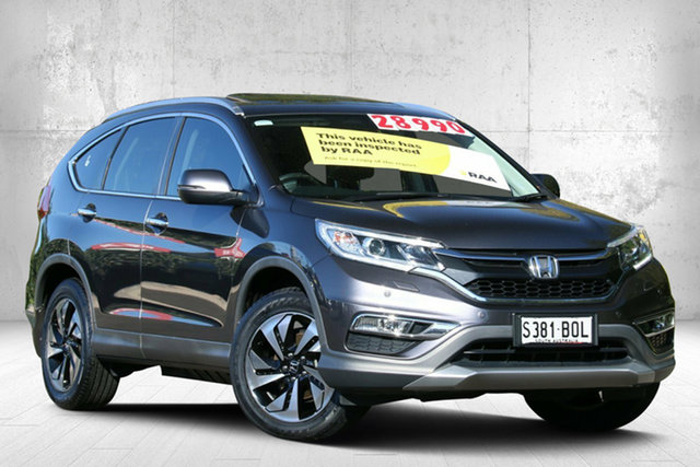 Used Honda CR-V RM Series II MY17 VTi-L, 2016 Honda CR-V RM Series II MY17 VTi-L Modern Steel 5 Speed Sports Automatic Wagon