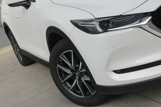 2020 Mazda CX-5 KF4W2A GT SKYACTIV-Drive i-ACTIV AWD Snowflake White 6 Speed Sports Automatic Wagon.