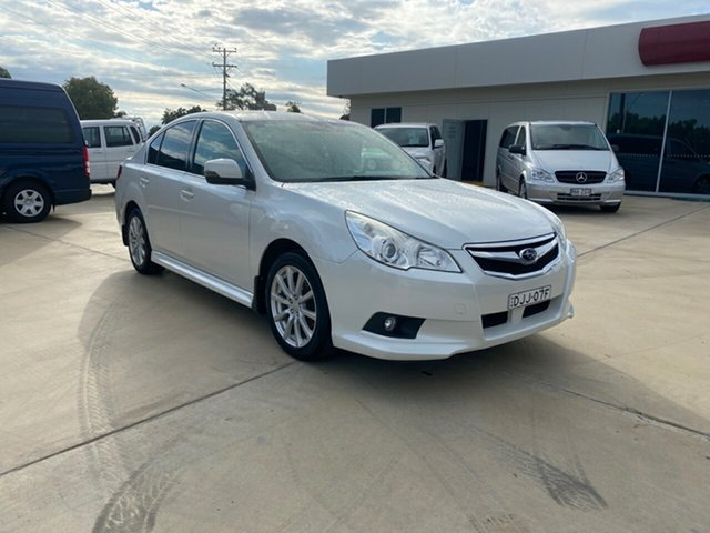 Used Subaru Liberty B5 MY12 2.5i AWD, 2012 Subaru Liberty B5 MY12 2.5i AWD White 6 Speed Manual Sedan