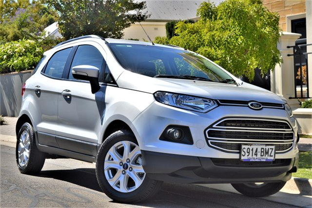 Used Ford Ecosport BK Trend PwrShift, 2016 Ford Ecosport BK Trend PwrShift Silver 6 Speed Sports Automatic Dual Clutch Wagon