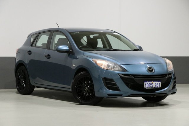 Used Mazda 3 BL 11 Upgrade Neo, 2011 Mazda 3 BL 11 Upgrade Neo Blue 5 Speed Automatic Hatchback