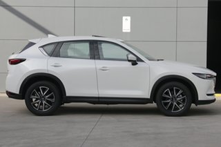 2020 Mazda CX-5 KF4W2A GT SKYACTIV-Drive i-ACTIV AWD Snowflake White 6 Speed Sports Automatic Wagon