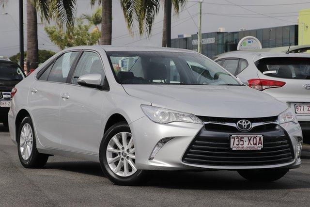 Used Toyota Camry ASV50R Altise, 2017 Toyota Camry ASV50R Altise Premium Silver 6 Speed Sports Automatic Sedan