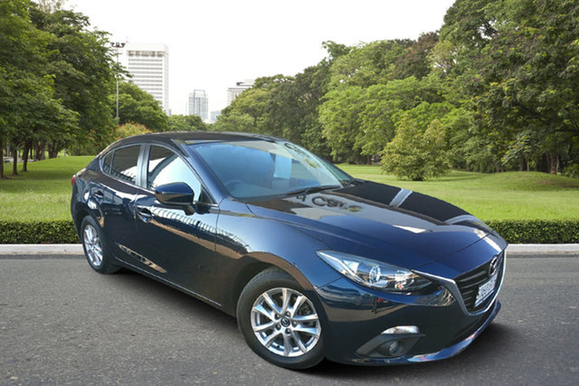 Used Mazda 3 BM5276 Maxx SKYACTIV-MT, 2014 Mazda 3 BM5276 Maxx SKYACTIV-MT Blue 6 Speed Manual Sedan