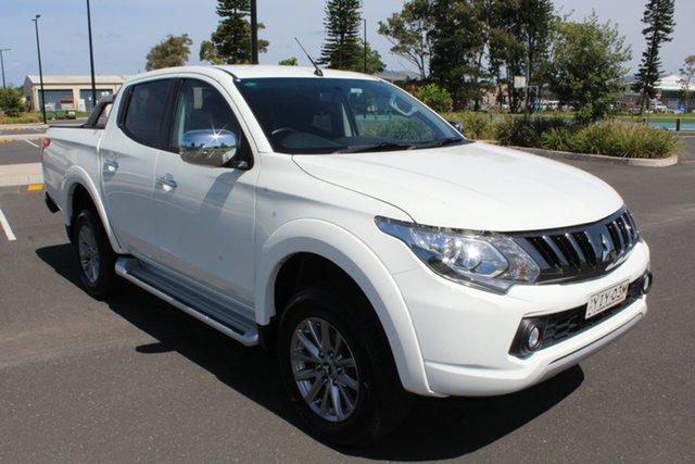 Used Mitsubishi Triton MQ MY18 GLS Double Cab, 2018 Mitsubishi Triton MQ MY18 GLS Double Cab White 6 Speed Manual Utility