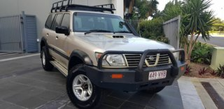 2001 Nissan Patrol GU II ST (4x4) Gold 5 Speed Manual 4x4 Wagon.