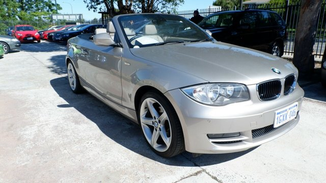 Used BMW 120i E88 MY09 120i, 2009 BMW 120i E88 MY09 120i Silver 6 Speed Automatic Convertible