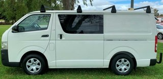 2008 Toyota HiAce KDH201R MY08 LWB White 4 Speed Automatic Van