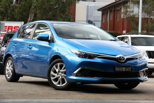Used Toyota Corolla ZRE182R MY15 Ascent Sport, 2016 Toyota Corolla ZRE182R MY15 Ascent Sport Blue 6 Speed Manual Hatchback