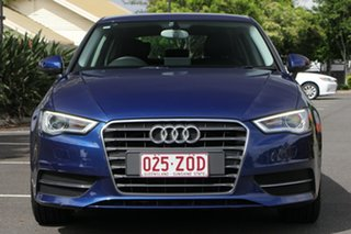 2014 Audi A3 8V MY15 Attraction Sportback S Tronic Blue 7 Speed Sports Automatic Dual Clutch