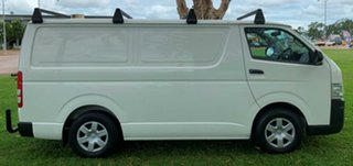 2008 Toyota HiAce KDH201R MY08 LWB White 4 Speed Automatic Van.