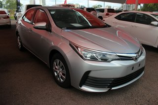 2017 Toyota Corolla ZRE172R Ascent S-CVT Silver Pearl 7 Speed Automatic Hatchback.