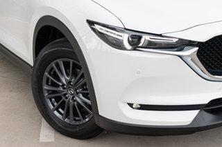 2020 Mazda CX-5 KF4WLA Touring SKYACTIV-Drive i-ACTIV AWD Snowflake White Pearl 6 Speed.