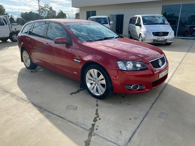 Used Holden Commodore VE II MY12.5 SV6 Sportwagon Z Series, 2012 Holden Commodore VE II MY12.5 SV6 Sportwagon Z Series Red 6 Speed Sports Automatic Wagon