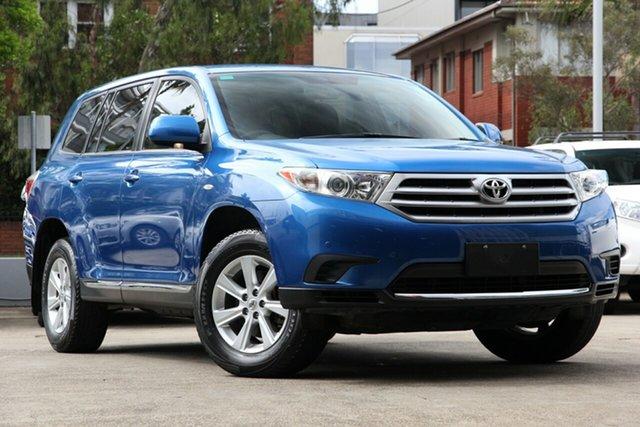 Used Toyota Kluger GSU40R MY11 KX-R 2WD, 2011 Toyota Kluger GSU40R MY11 KX-R 2WD Blue 5 Speed Sports Automatic Wagon