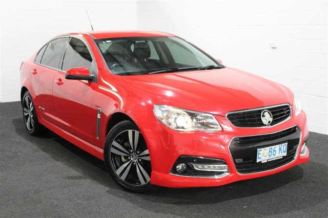 Used Holden Commodore VF MY15 SV6 Storm, 2015 Holden Commodore VF MY15 SV6 Storm Red Hot 6 Speed Manual Sedan