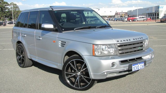 Used Land Rover Range Rover Sport L320 08MY TDV6, 2008 Land Rover Range Rover Sport L320 08MY TDV6 Silver 6 Speed Sports Automatic Wagon
