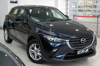 2020 Mazda CX-3 CX3E Maxx Sport (FWD) Deep Crystal Blue 6 Speed Automatic Wagon.
