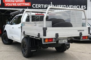 2015 Nissan Navara D23 RX White 6 Speed Manual Cab Chassis.