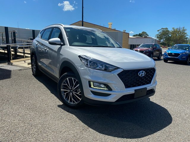 New Hyundai Tucson TL4 MY20 Active X 2WD, 2020 Hyundai Tucson TL4 MY20 Active X 2WD Silver 6 Speed Automatic Wagon