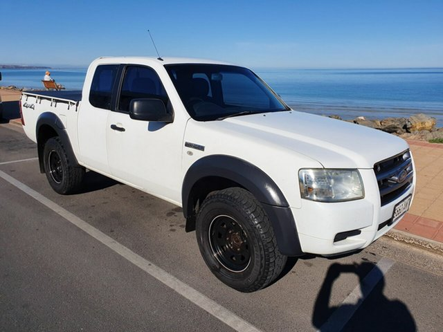Used Ford Ranger PJ XL Super Cab, 2008 Ford Ranger PJ XL Super Cab White 5 Speed Manual Utility