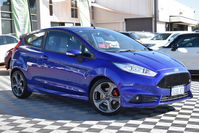 Used Ford Fiesta WZ ST, 2017 Ford Fiesta WZ ST Blue 6 Speed Manual Hatchback