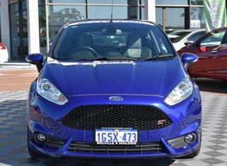 2017 Ford Fiesta WZ ST Blue 6 Speed Manual Hatchback