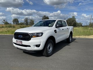 2019 Ford Ranger PX MkIII 2019.75MY XL Double Cab Arctic White 6 Speed Sports Automatic Cab Chassis