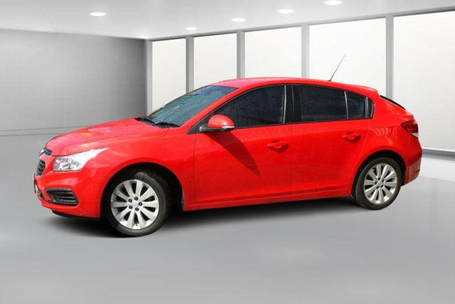 Used Holden Cruze JH Series II MY16 Equipe, 2016 Holden Cruze JH Series II MY16 Equipe Red 6 Speed Sports Automatic Hatchback