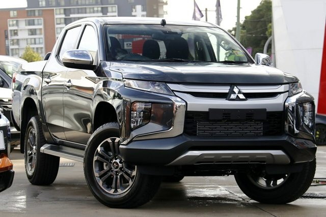 New Mitsubishi Triton MR MY20 GLX-R Double Cab, 2020 Mitsubishi Triton MR MY20 GLX-R Double Cab Graphite Grey 6 Speed Sports Automatic Utility