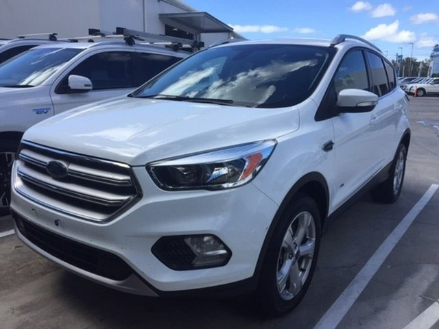 Used Ford Escape ZG Trend AWD, 2017 Ford Escape ZG Trend AWD White 6 Speed Sports Automatic Wagon