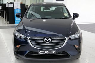2020 Mazda CX-3 CX3E Maxx Sport (FWD) Deep Crystal Blue 6 Speed Automatic Wagon