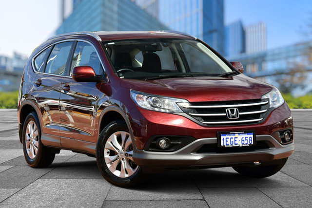 Used Honda CR-V RM VTi-S 4WD, 2013 Honda CR-V RM VTi-S 4WD Red/Black 5 Speed Automatic Wagon