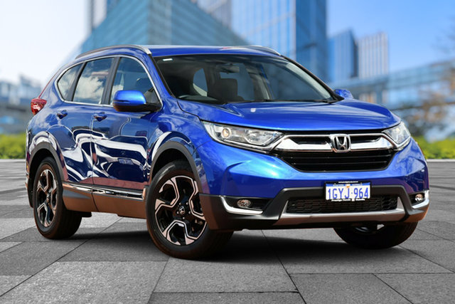 Demo Honda CR-V RW MY19 VTi-S FWD, 2019 Honda CR-V RW MY19 VTi-S FWD Brilliant Sporty Blue 1 Speed Constant Variable Wagon