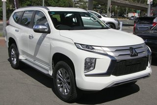 2020 Mitsubishi Pajero Sport QF MY20 GLX White 8 Speed Sports Automatic Wagon