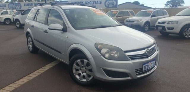 Used Holden Astra AH MY09 CD East Bunbury, 2009 Holden Astra AH MY09 CD Silver 4 Speed Automatic Wagon