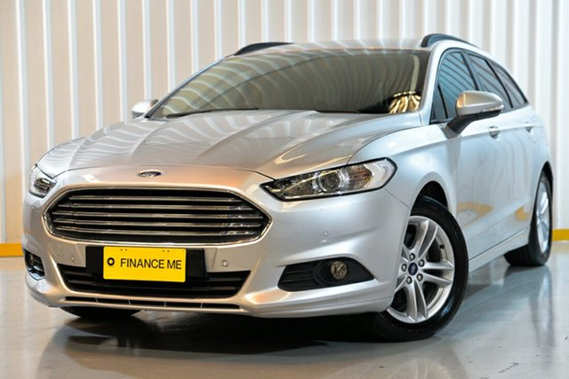 Used Ford Mondeo MD Ambiente PwrShift, 2016 Ford Mondeo MD Ambiente PwrShift Silver 6 Speed Sports Automatic Dual Clutch Wagon