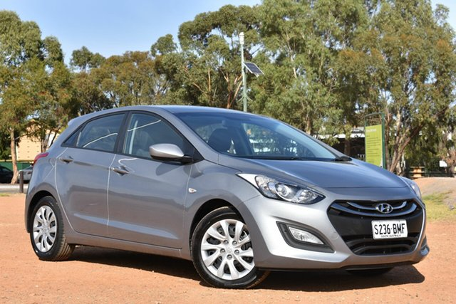 Used Hyundai i30 GD2 Active, 2014 Hyundai i30 GD2 Active Grey 6 Speed Sports Automatic Hatchback