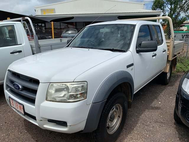 Used Ford Ranger  , 2008 Ford Ranger White 5 Speed Manual Dual Cab